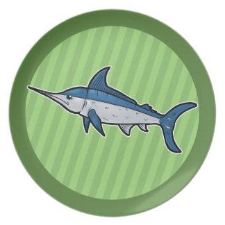 Blue Marlin Plate
