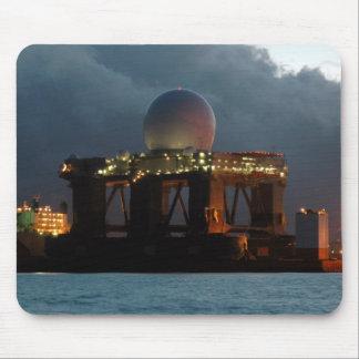 Blue Marlin Radar Ship Mouse Pad