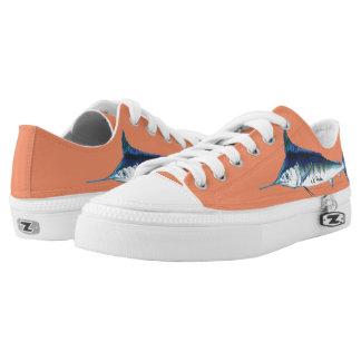 Blue marlin Shoes Orange Printed Shoes