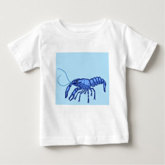 Blue Marron Sketch Baby T-Shirt