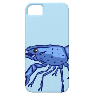 Blue Marron Sketch Barely There iPhone 5 Case