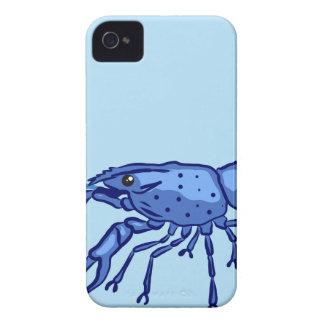 Blue Marron Sketch iPhone 4 Case-Mate Case