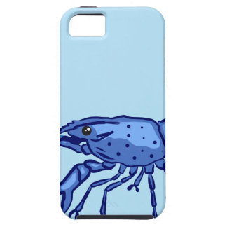 Blue Marron Sketch Tough iPhone 5 Case