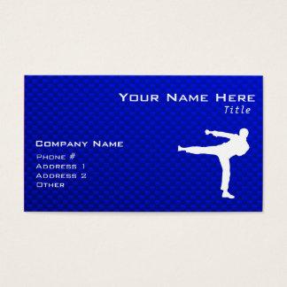 Blue Martial Arts