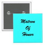 Blue Matron Of Honour PIn