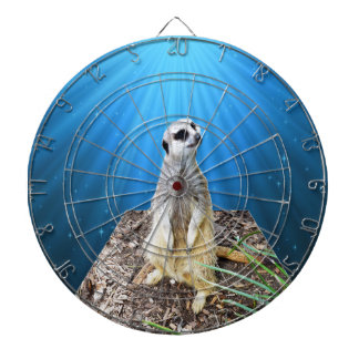 Blue Meerkat Night,_ Dartboard