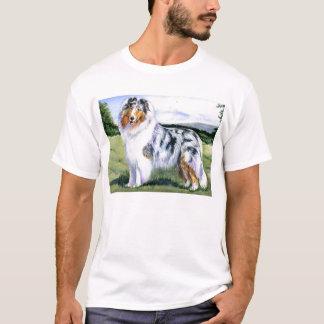 Blue Merle Collie T-Shirt