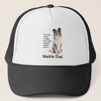 Blue Merle Sheltie Dad Hat