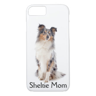 Blue Merle Sheltie Mom Smartphone Case