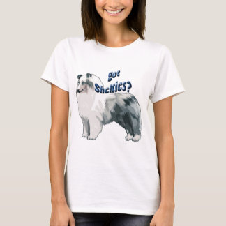 Blue Merle shetland Sheepdog T-Shirt