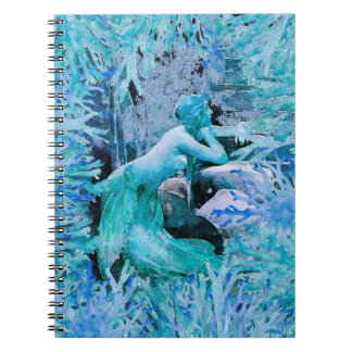 Blue Mermaid Notebook