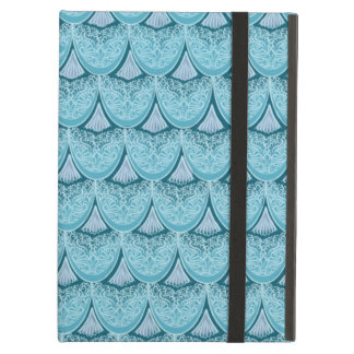 Blue Mermaid scales ,boho,hippie,bohemian Cover For iPad Air