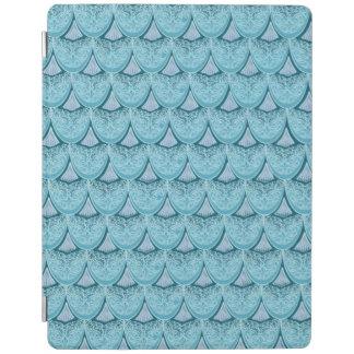Blue Mermaid scales ,boho,hippie,bohemian iPad Cover