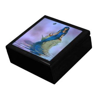 Blue Mermaid Trinket Box