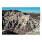 Blue Mesa Badlands Birthday Card