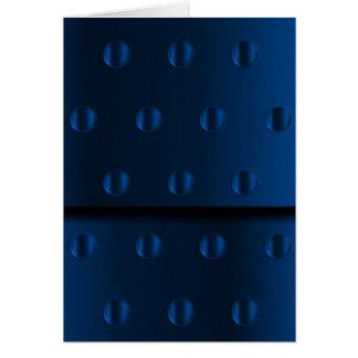 Blue Metal Card