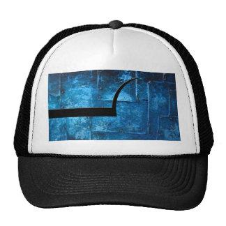 Blue Metal Plates Cap