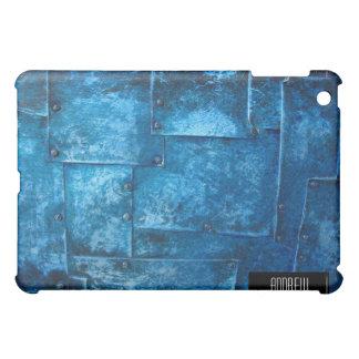 Blue Metal Plates iPad iPad Mini Covers