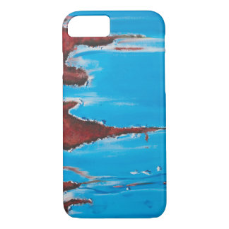 Blue Metal Rust iPhone 8/7 Case