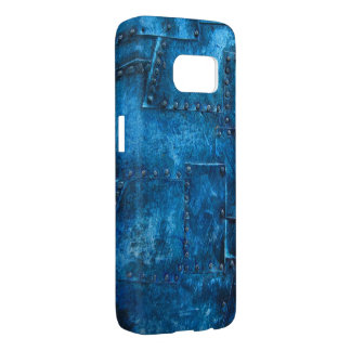 blue metal textures