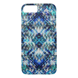 Blue Metal Tight Weave iPhone 7 Case