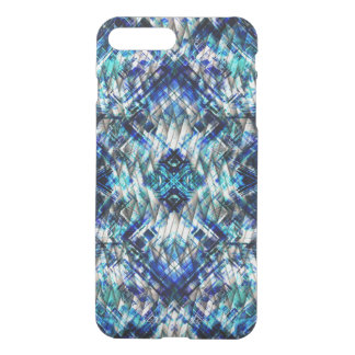 Blue Metal Tight Weave iPhone 7 Plus Case