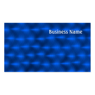 Blue metalic business cards