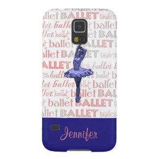 Blue Metallic Ballerina Galaxy S5 Cover