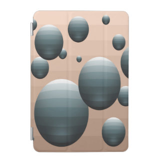 Blue Metallic Egg Abstract Smart Cover iPad Mini Cover