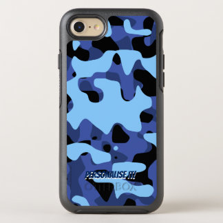 Blue Military Camouflage OtterBox Symmetry iPhone 8/7 Case