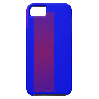 Blue Minimal Art Cover For iPhone 5/5S