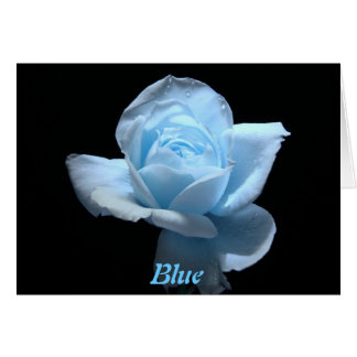 Blue - Miss You! Greeting Card