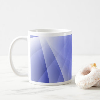 Blue Modern Digital Background Coffee Mug