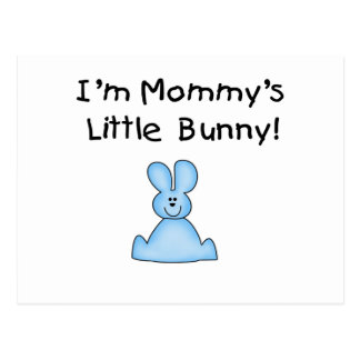 Blue Mommy s Little Bunny T-shirts and Gifts Postcard