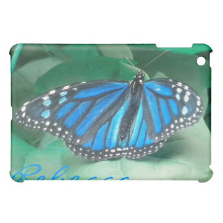 Blue Monarch Butterfly Cover For The iPad Mini