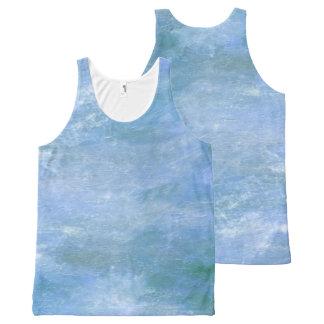 Blue Monet All-Over Print Tank Top