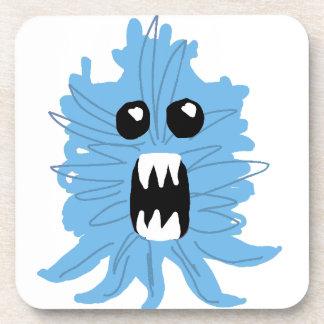 Blue Monster Baby Shirt Coaster