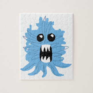 Blue Monster Baby Shirt Jigsaw Puzzle
