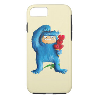 Blue Monster Ice Cream iPhone 7 Case
