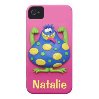 Blue Monster iPhone 4 Case-Mate Cases