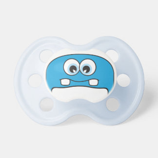Blue Monster Pacifier