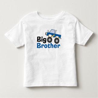 Blue Monster Truck Big Brother T-shirt