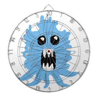Blue Monster Wrapping Paper Dartboard