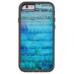 Blue Mood Music Watercolor Phone case Tough Xtreme iPhone 6 Case