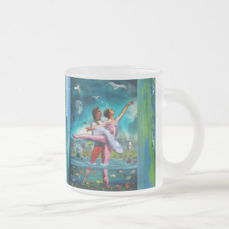 Blue Moon Ballet A Complete Fiction Frosted Glass Mug