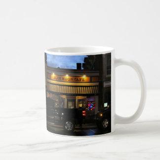 Blue Moon Cafe Christmas, Customizable Coffee Mug