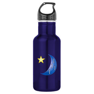 Blue Moon Customizable 532 Ml Water Bottle