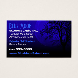 Blue Moon Image Business Card