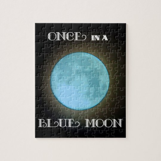"""Blue Moon"" Jigsaw Puzzle"