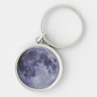 Blue Moon Keychain